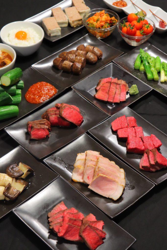 肉山富山 赤身肉 明日ダイニング