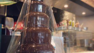 サルヴァトーレのチョコファウンテン 小矢部でランチ
