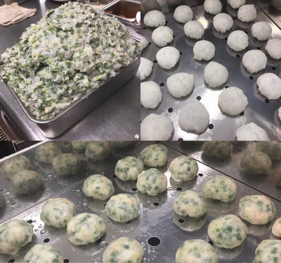 紅虎餃子房のニラ饅頭 ファボーレ富山