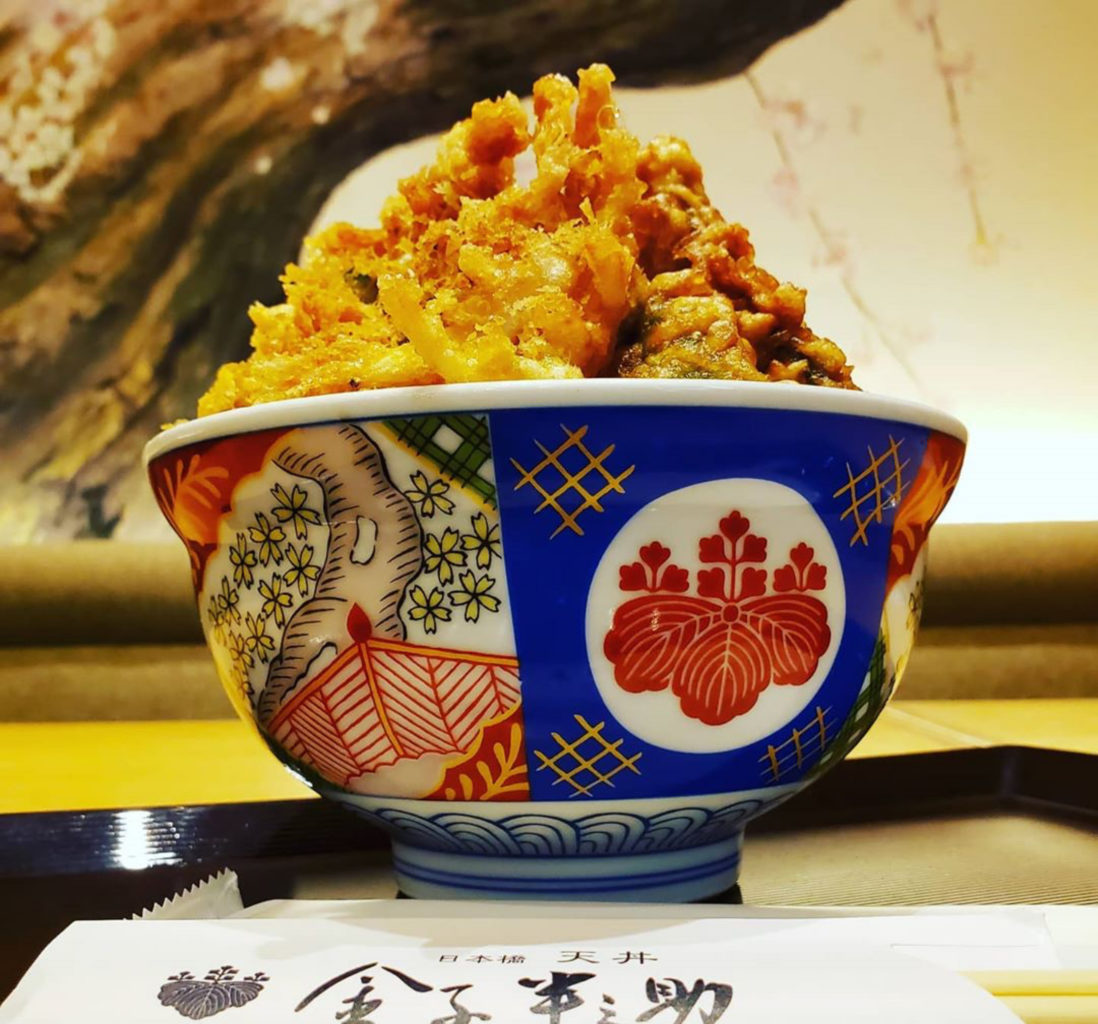 日本橋天丼金子半之助小矢部の白えび天丼