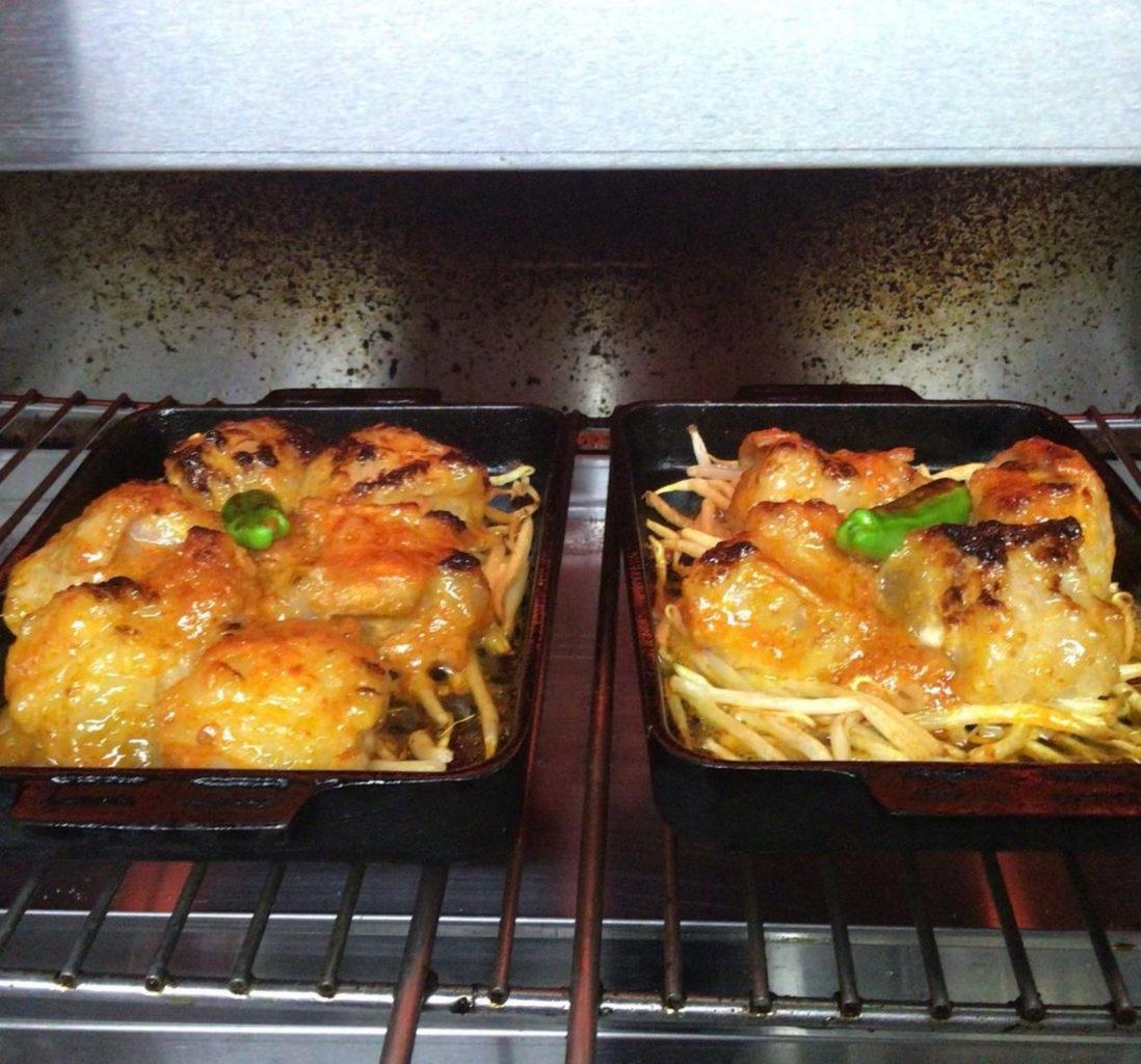 博多もつ鍋龍富山のもつ辛子味噌焼き