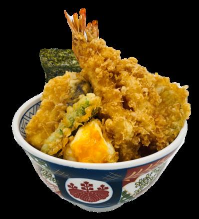 金子半之助ファボーレ 海老と野菜の天丼