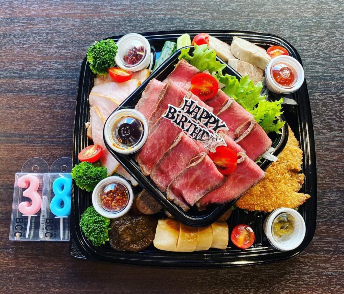 肉山富山のオードブル